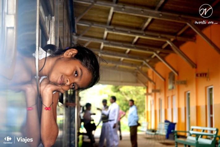 1 Aventuhero - Tren Nuwara Eliya. La mirada