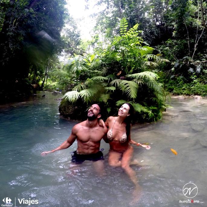 Aventuhero Jamaica Rio con Natalia
