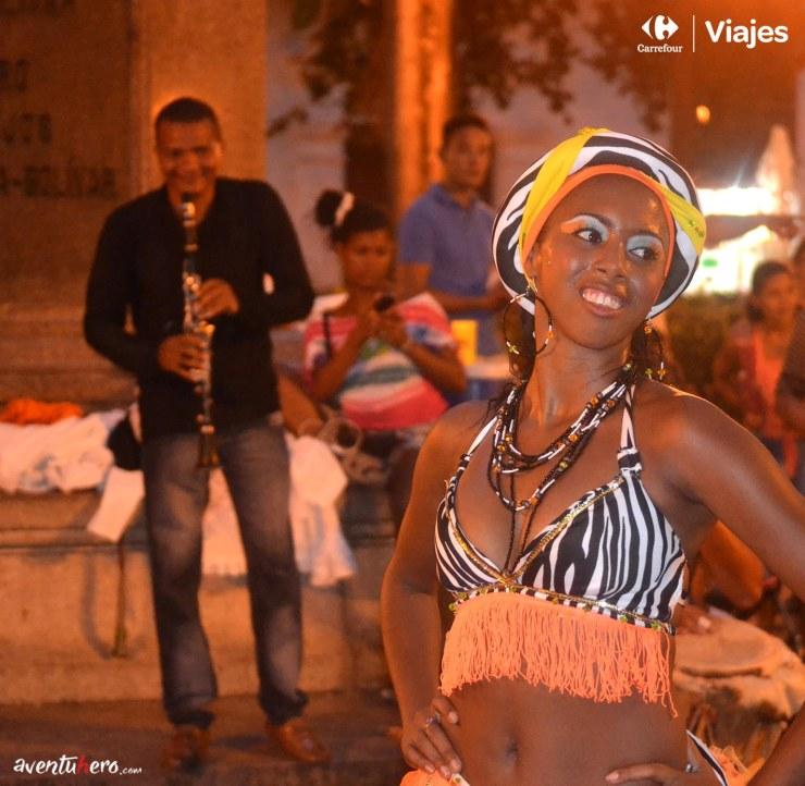 1 Aventuhero - bailarina en Cartagena