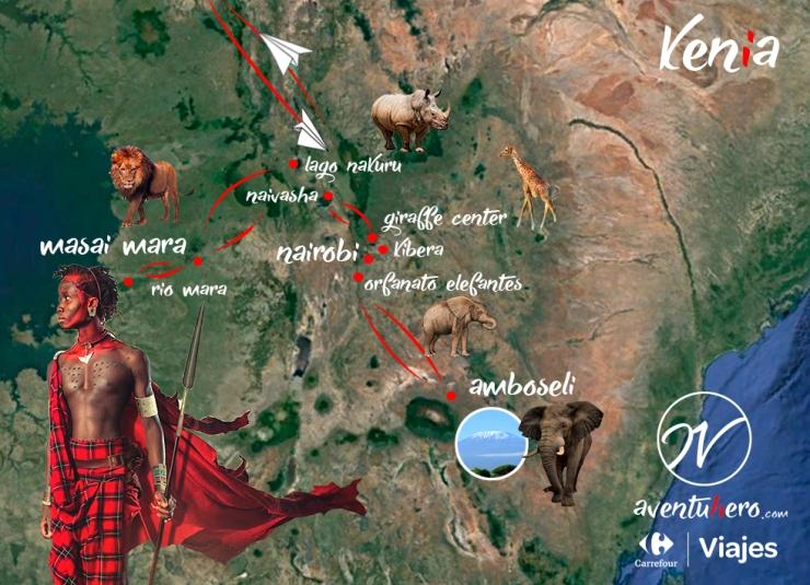 2 Mapa Kenia